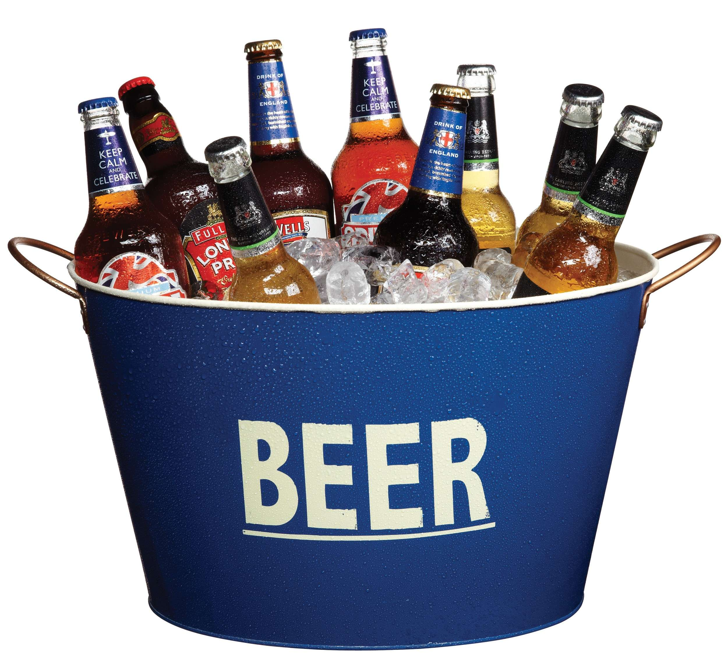 Kitchen Craft Bar Craft Lock In Tin Beer Pail Cooler