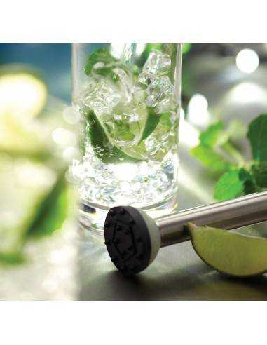 Kitchen Craft Bar Craft Luxe Lounge Stainless Steel Muddler - Mimocook