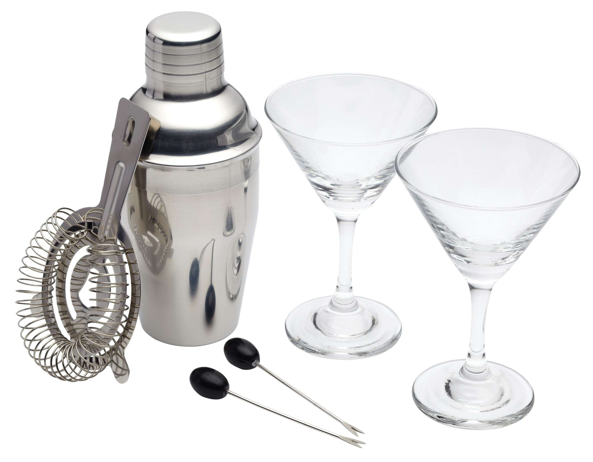 Kitchen Craft Bar Craft Luxe Lounge 6 Piece Mini Martini Cocktail