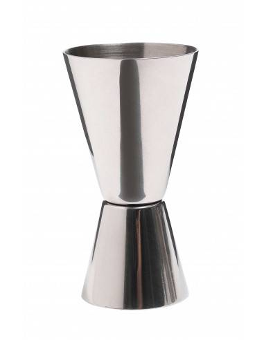 Kitchen Craft Bar Craft Stainless Steel Dual Spirit Measure Cup