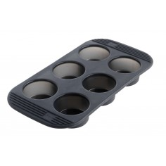 Mastrad Silicone 6 Cup Muffins Pan