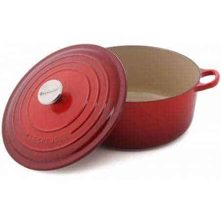 Le Creuset Cocotte Cast Iron Round Casserole 24cm - Mimocook