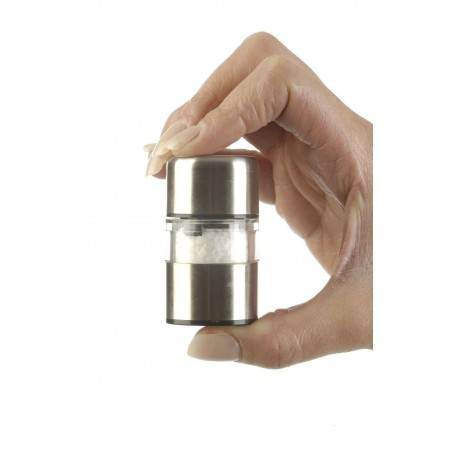 DMD Stainless Steel Mini Gem Salt and Pepper Mill Set - Mimocook