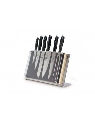 Bloco de facas 6 peças - Douro Gourmet