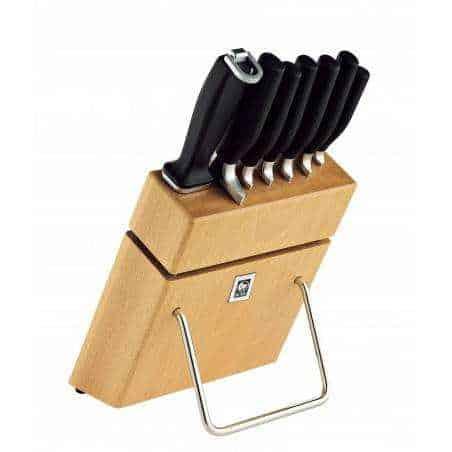 ICEL Onix 7 pieces knife blocks - Mimocook