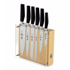 ICEL Onix 6 pieces knife block