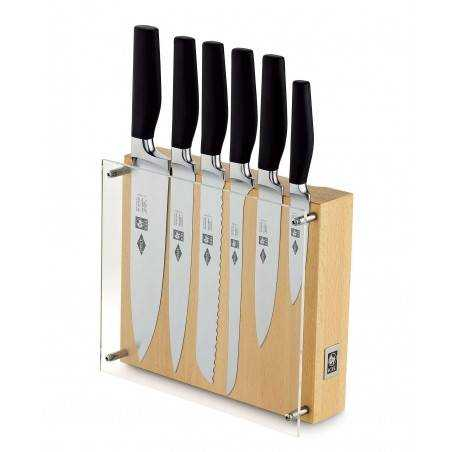 ICEL Onix 6 pieces knife block - Mimocook