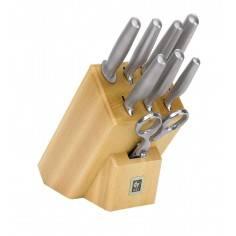 ICEL Platina 8 pieces knife blocks - Mimocook