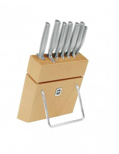 ICEL Platina 7 pieces knife blocks
