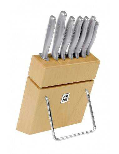 ICEL Absolute Steel 7 pieces knife blocks