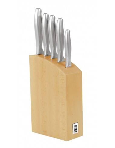 ICEL Absolute Steel 5 pieces knife blocks