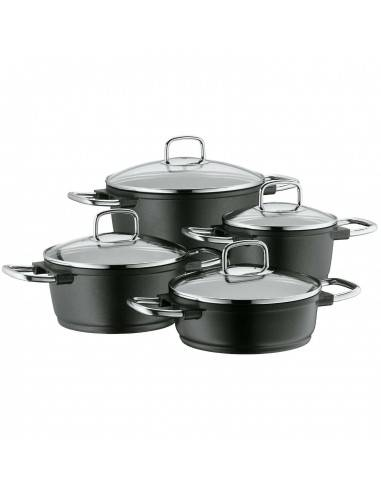 WMF Bueno 4-Piece Cookware Set for Induction Cooking