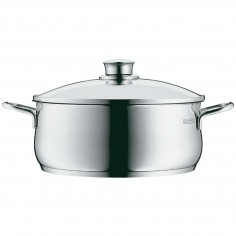 WMF Diadem Plus Low Casserole with Lid