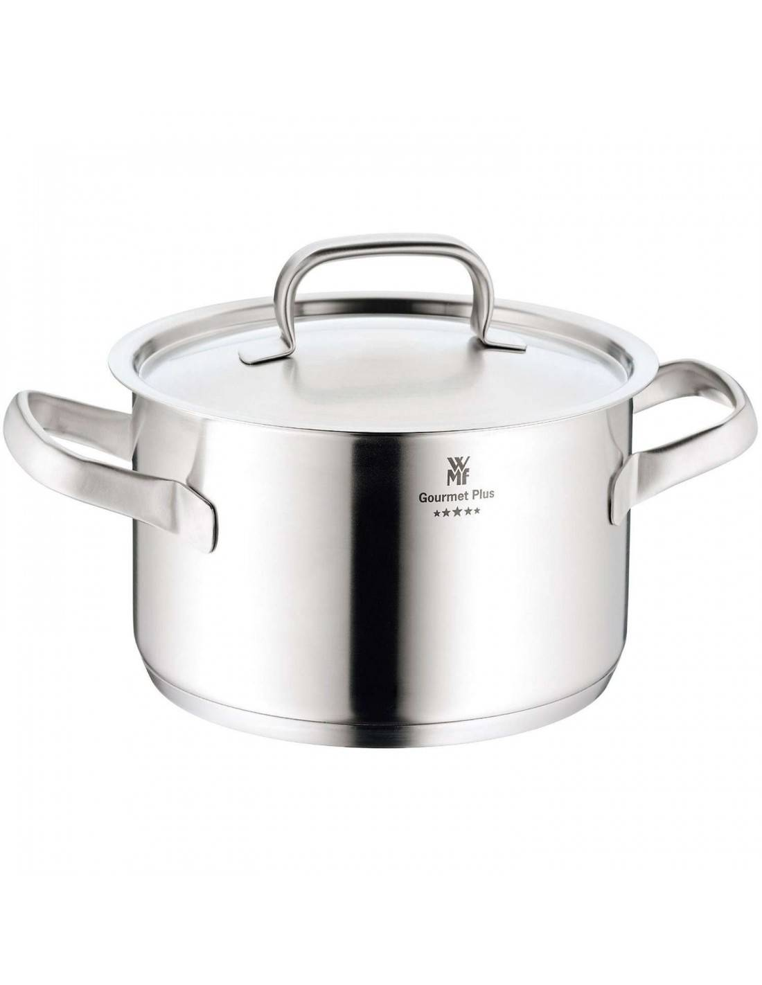 wmf gourmet plus stock pot with lid mimocook online store. Black Bedroom Furniture Sets. Home Design Ideas