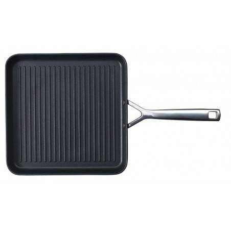 Le Creuset Toughened Non-Stick Ribbed Square Grill-28 cm - Mimocook