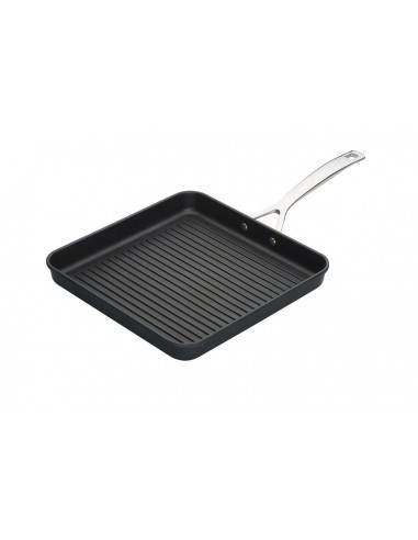 Le Creuset Toughened Non-Stick Ribbed Square Grill-28 cm