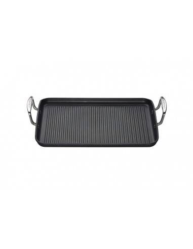 Le Creuset Toughened Non-Stick Ribbed Rectangular Grill