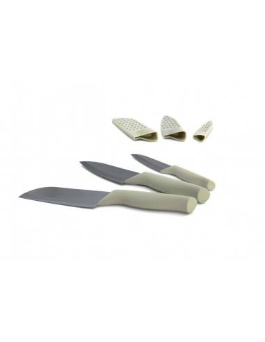 BergHOFF Eclipse 3pc ceramic knife set