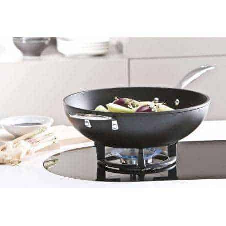 Le Creuset Wok Pan Forged Aluminium - Mimocook