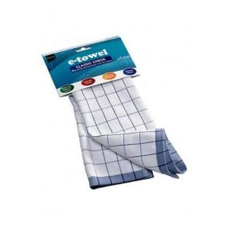 E-Cloth Classic Check Tea Towel - Mimocook