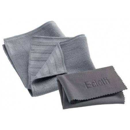 E-Cloth Stainless Steel Pack 2 Cloths - Mimocook