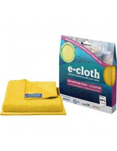 Pack de 2 panos para casa de banho E-Cloth