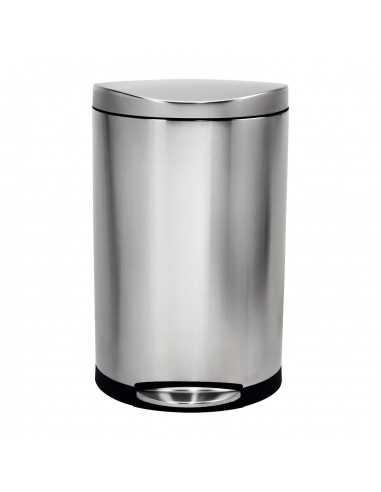 Simplehuman 30 litre semi-round bin