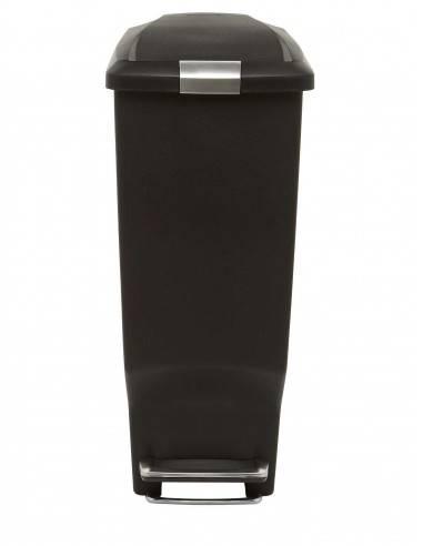 Simplehuman 25L Slim Black Pedal Bin