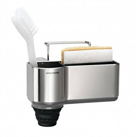 Simplehuman sink caddy brushed stainless steel - Mimocook