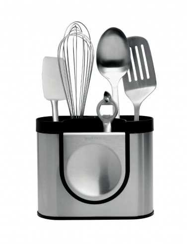 Simplehuman Utensil Holder with Removable Spoon Rest