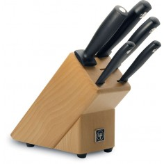 Wusthof Silverpoint Knife block 5 pc. set