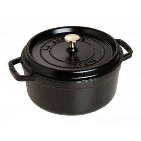 Staub Round Cocotte Pot 24 cm - Mimocook