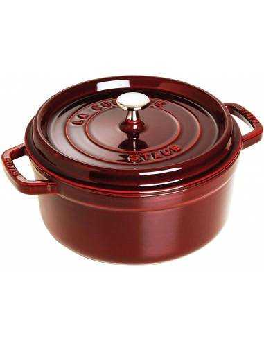 Staub Round Cocotte Pot 26 cm - Mimocook