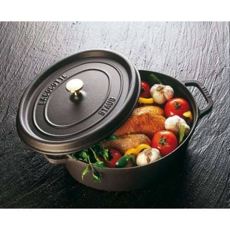 Staub Oval Cocotte Pot 37 cm - Mimocook