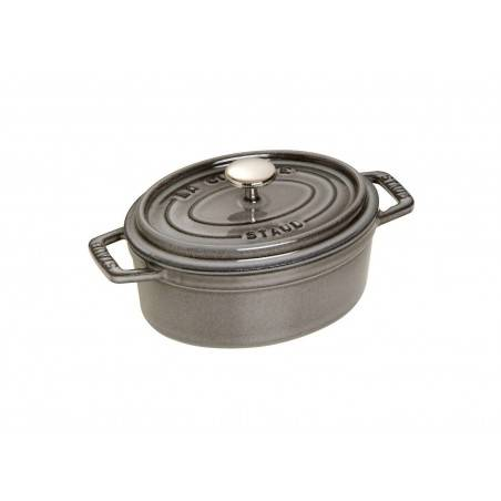 Staub Oval Cocotte Pot 17 cm - Mimocook