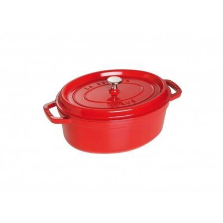 Staub Oval Cocotte Pot 27 cm - Mimocook