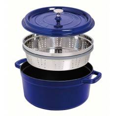 Staub Cocotte With Steamer 26cm