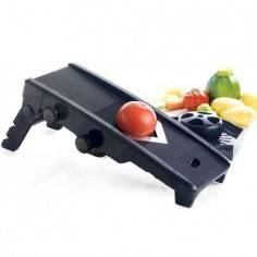 Mastrad Mandolin V Fruit and Veg Food Slicer Black - Mimocook