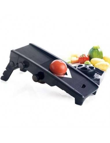 Mastrad Mandolin V Fruit and Veg Food Slicer Black