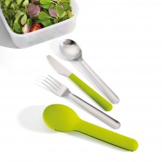 Joseph Joseph Go-Eat Compact Stainless Steel Cutlery Set