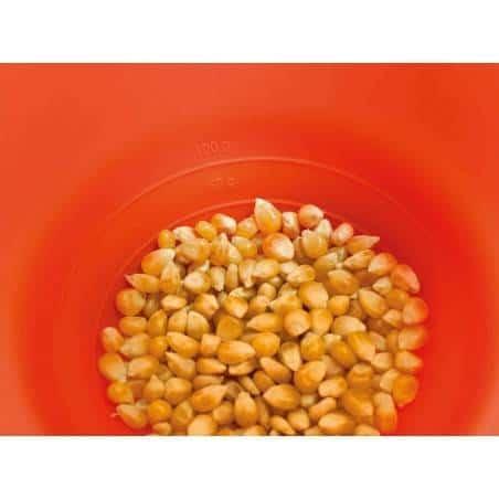 Pipocas no microondas da Lékué - Mimocook