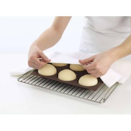Forma 6 mini pães redondos Lékué - Mimocook
