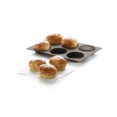 Forma 6 mini pães redondos Lékué