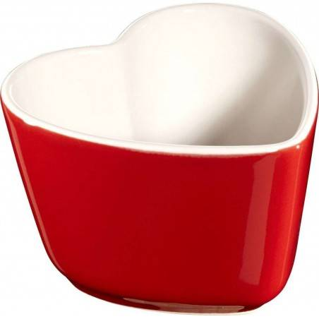 Staub 2x Mini Ceramic Heart Cocotte with Lid - Mimocook