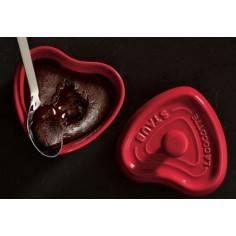 Staub ceramic heart mini cocotte