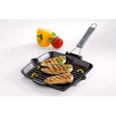 Staub Rectangular Grill Pan with Handle - Mimocook