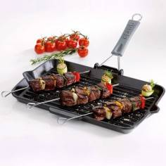 Staub Rectangular Grill Pan 34x21cm with handle