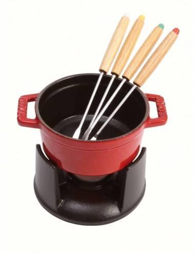 Mini set fondue 10cm da Staub