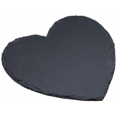 Kitchen Craft Artesà Appetiser Slate Heart Shaped Serving Platter
