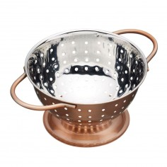 Kitchen Craft Artesà Copper Finish Mini Colander